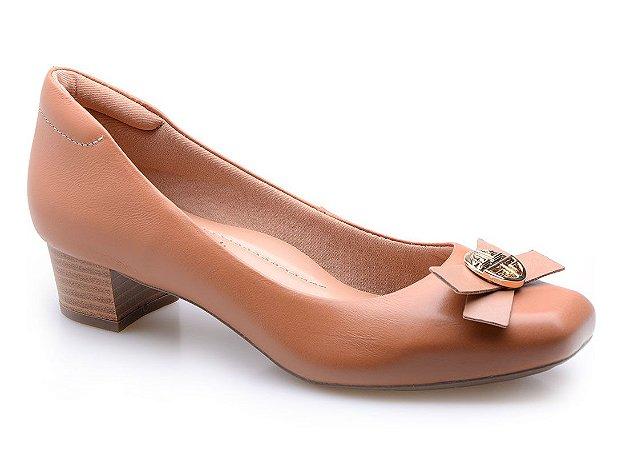 Sapato Neftali Comfort Enfeite Caramelo