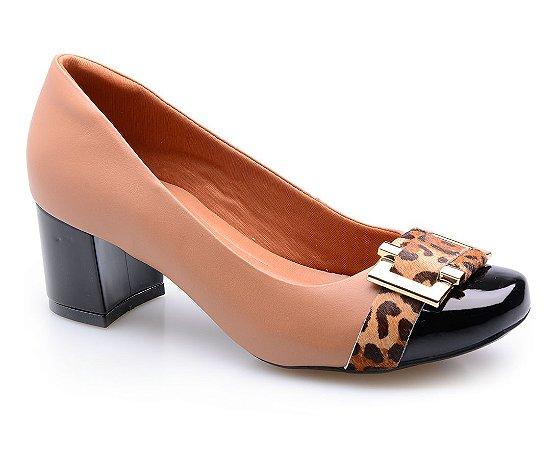 Sapato Neftali Caramelo/Onça