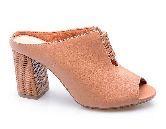 306e1e2a2 Mule Neftali Caramelo/Tressê - Altine | Calçados Femininos Online