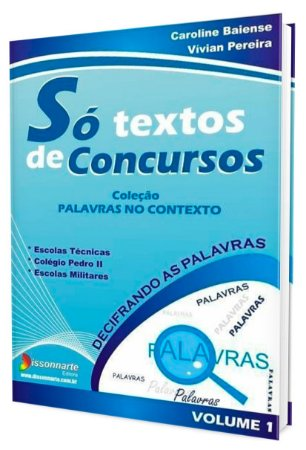 Só Textos de Concursos - Vol.1