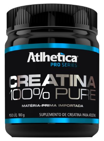 CREATINA 100% PURE - 100GR - ATLHETICA NUTRITION