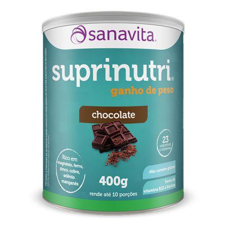 SUPRINUTRI GANHO DE PESO - CHOCOLATE