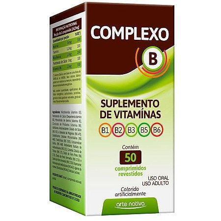 Complexo B 50 comprimidos Arte Nativa