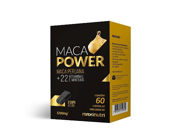 MACA POWER 1200MG 60CPS MAXINUTRI