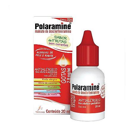 Polaramine Gotas com 20 ml