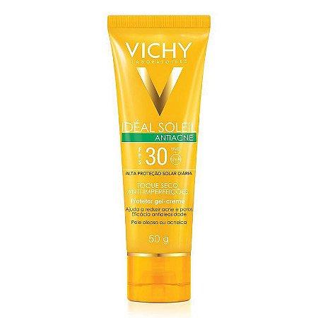 Protetor Solar Idéal Soleil Vichy Antiacne FPS30 40g