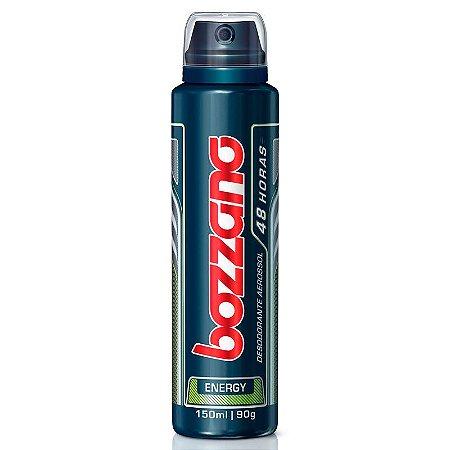 Desodorante Antitranspirante Aerosol Bozzano Masculino Energy com 150ml