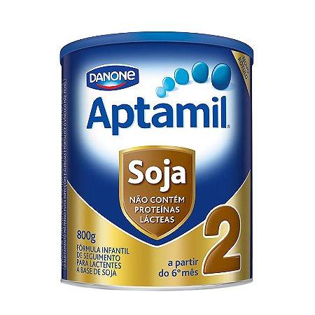 Aptamil Soja 2 800 Gramas