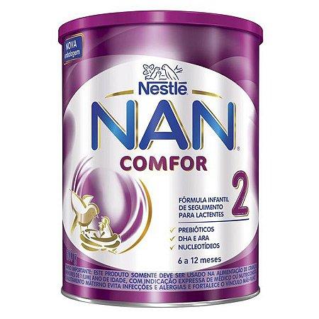 Nan Comfor 2 com 800 Gramas