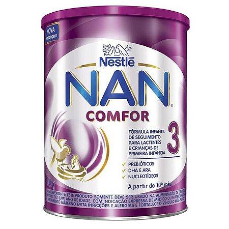 Nan Comfor 3 com 800 Gramas