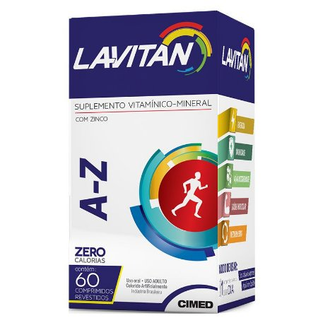 Lavitan A-Z com 60 Comprimidos
