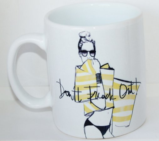Caneca Don't Freak Out