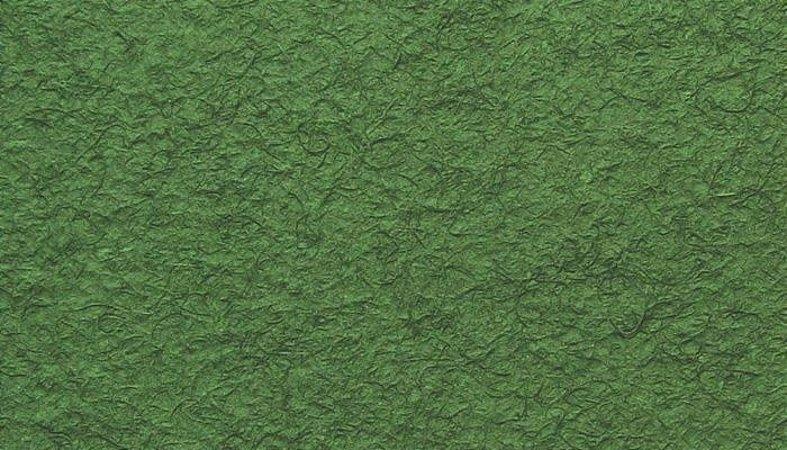 Papel Reciclado Artesanal Verde Texturizado