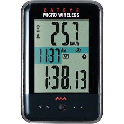 Cateye Micro Wireless Mc200w Visor Com Iluminação