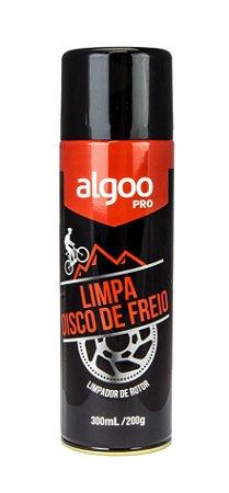 Limpa Disco De Freio De Bicicleta Algoo Spray 300ml