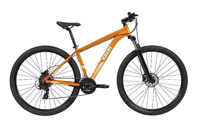 Bicicleta Caloi Explorer Sport Laranja 2021