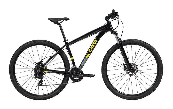 Bicicleta Caloi Explorer Sport preta 2021