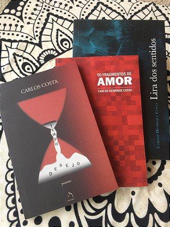 COMBO DE POEMAS DE CARLOS HENRIQUE COSTA