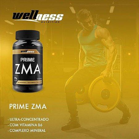 ZMA PRIME - 120 comp. - WELNESS NUTRITION