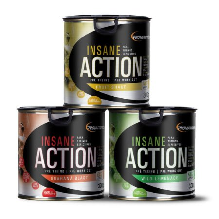 Insane Action - 300GR - Pronutrition