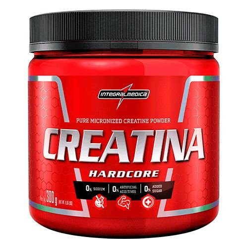 Creatina Hardcore - 300g - Integralmédica