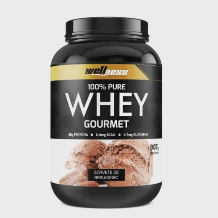 100% Whey Protein - WELLNESS NUTRITION