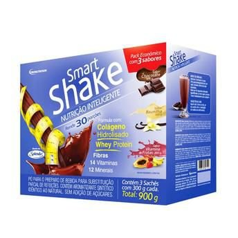Smart Shake 3 Sabores Pro Nutrition 900g