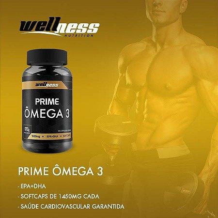 Ômega 3 -120 caps - Wellness Nutrition