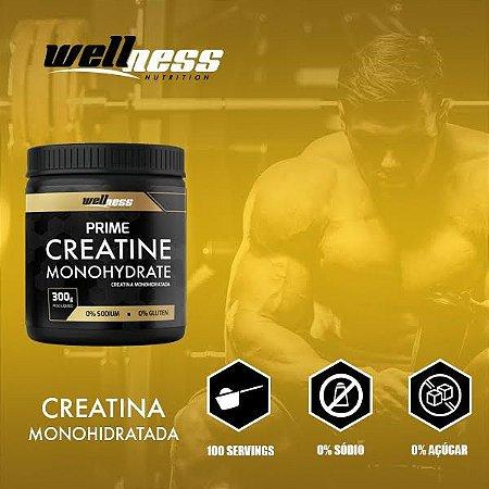 CREATINE - 300G - WELLNESS NUTRITION