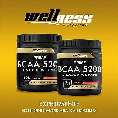 BCAA ULTRA 5200 - 300G - WELLNESS NUTRITION