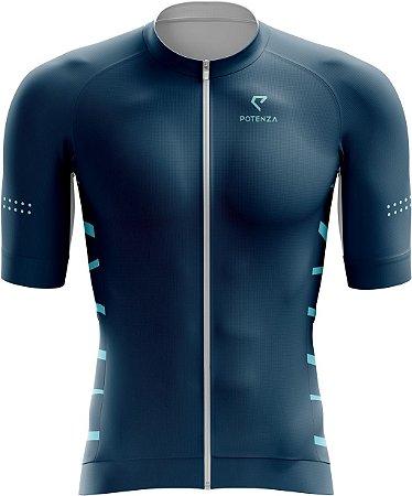 Camisa de Ciclismo - Navy