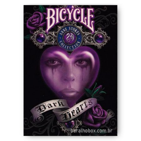 Baralho Bicycle Anne Stokes Dark Hearts