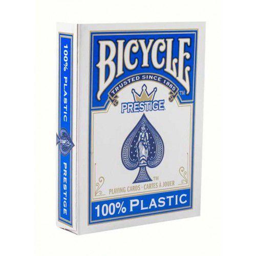 Baralho Bicycle Prestige Texas Holdem 100% Plástico