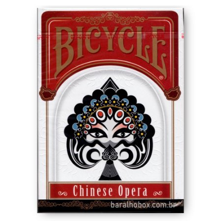 Baralho Bicycle Chinese Opera