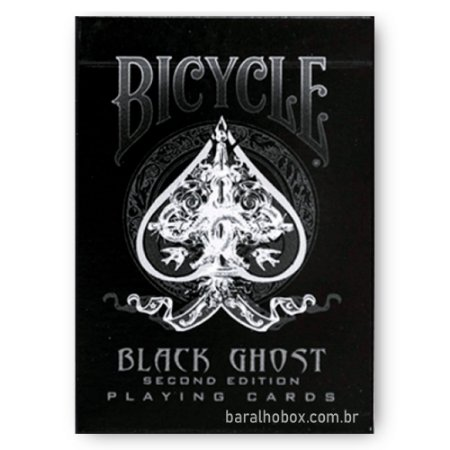 Baralho Bicycle Black Ghost