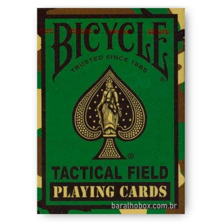 Baralho Bicycle Tactical Field Jungle