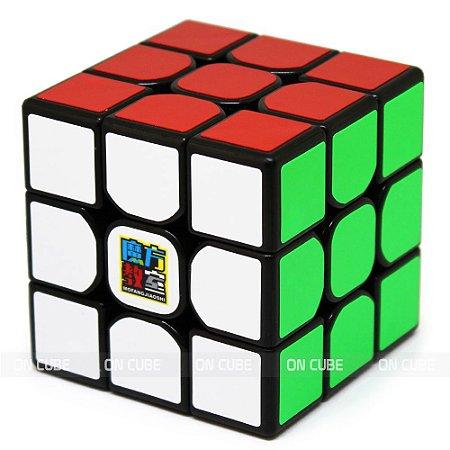 Cubo Mágico 3x3x3 Moyu MF3RS Preto