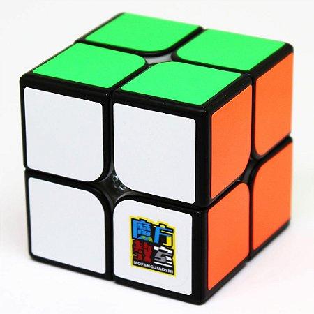 Cubo Mágico 2x2x2 Moyu MF2S Preto