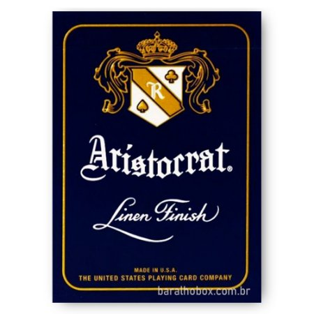 Baralho Aristocrat 727 Linen Finish Azul