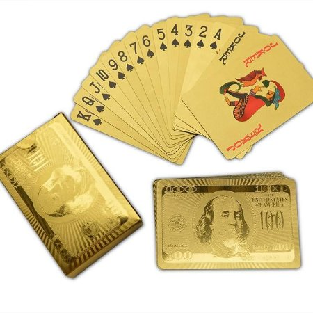 Baralho Dólar Dourado