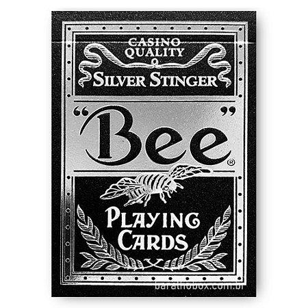 Baralho Bee Silver Stinger