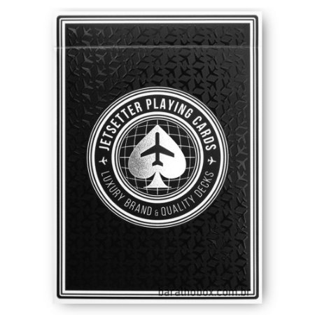 Baralho Jet Black by Jetsetter Playing Cards (Private Reserve)