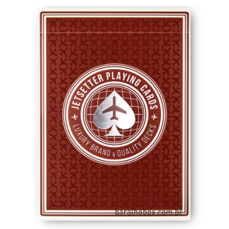 Baralho Restricted Red by Jetsetter Playing Cards (Premier Edition)