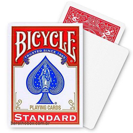Baralho Bicycle Blank Face Vermelho