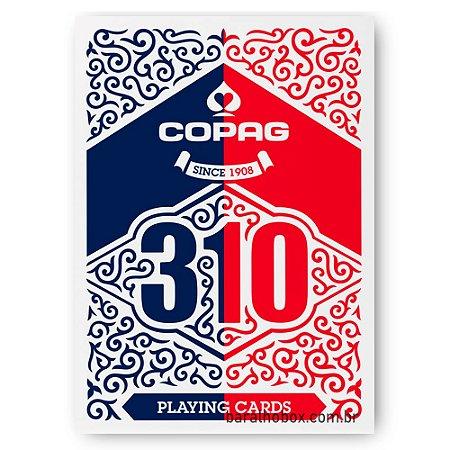 Baralho Copag 310 Double Back Azul e Vermelho