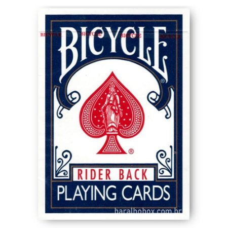 Baralho Bicycle Rider Back Azul