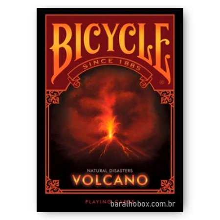 Baralho Bicycle Natural Disasters Volcano