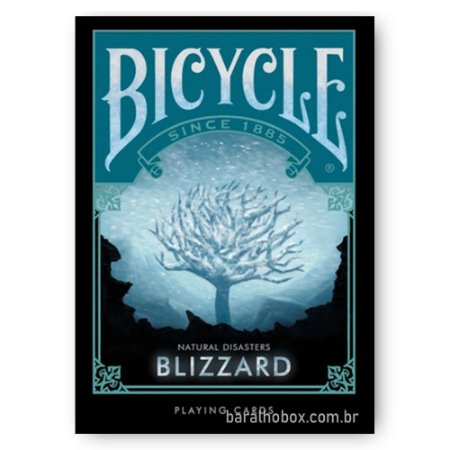 Baralho Bicycle Natural Disasters Blizzard