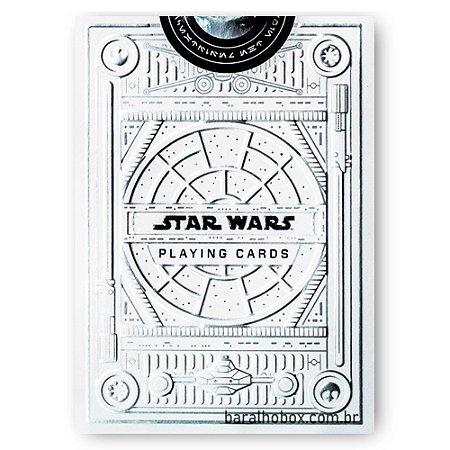 Baralho Star Wars Silver Edition White