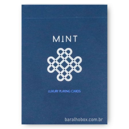 Baralho Mint 2 Blueberry